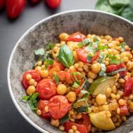 Kasza kuskus perłowa z warzywami