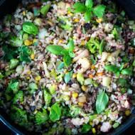 Ryż z brokułami