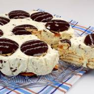 Straciatella ciasto bez pieczenia
