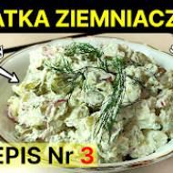 Sałatka ziemniaczana nr. 3 - Przepis na śniadanie