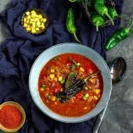 Zupa z szarpaną wieprzowiną