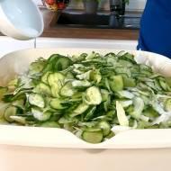 Warzywna sałatka obiadowa na zimę