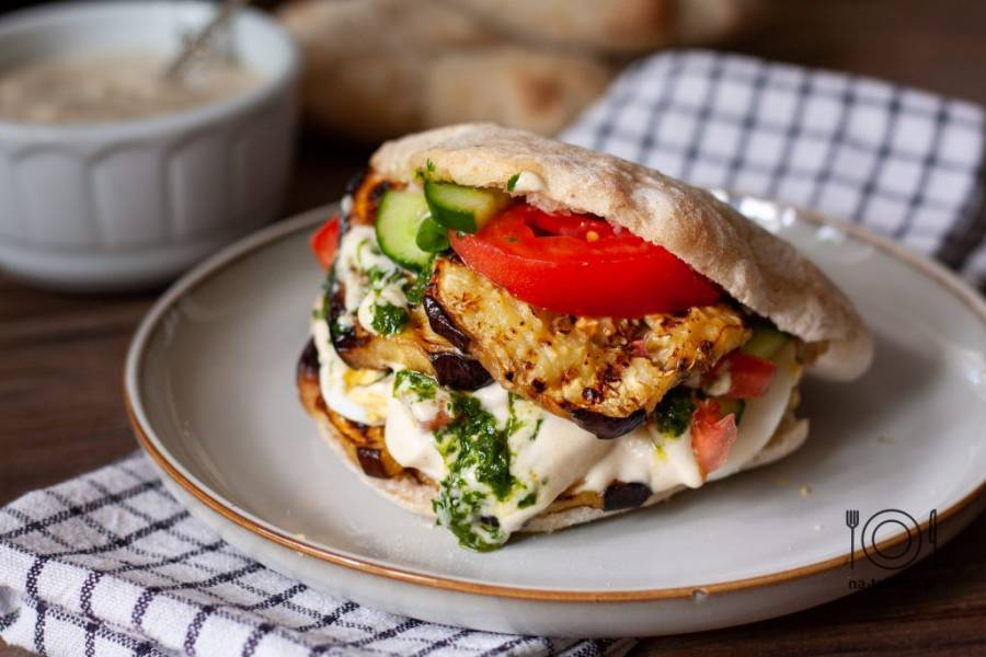 Sabich – izraelski street food
