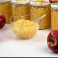 Jabłka prażone do słoików na zimę