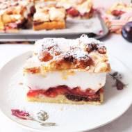 Ciasto Pleśniak ze śliwkami