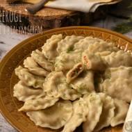 Pierogi z kurkami i białym serem – kuchnia podkarpacka