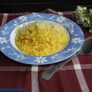 Risotto allo zafferano - ryż z szafranem