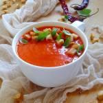 Zupa krem z pieczonej papryki