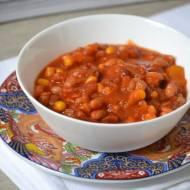 Wegańskie chilli z cynamonem...