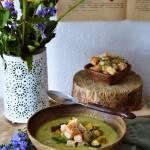 Sierpniowy krem z cukinii i brokuła