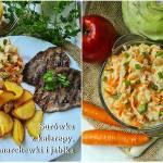 Surówka z kalarepy marchewki i jabłka
