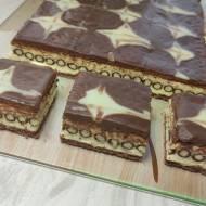 Ciasto bez pieczenia z rurkami z kremem - rurociąg