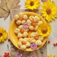 Kruche ciasteczka kwiaty