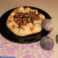 Rustykalna tarta z figami czyli galette figowe