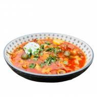 Kwaśno-słona zupa soljanka