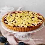 Ciasto śliwkowe – Prosta tarta ze śliwkami i kruszonką