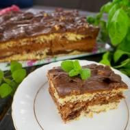 Ciasto Słodki Pocałunek – mocno czekoladowe