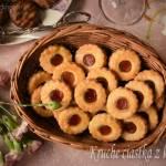 Kruche ciastka z konfiturą – kuchnia podkarpacka