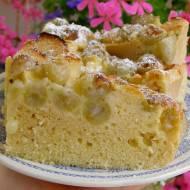 łatwe ciasto kokosowe agrestowo-jabłkowe...