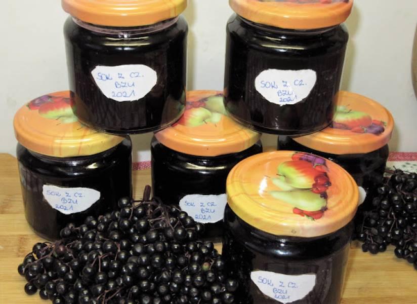 Sok z owoców czarnego bzu na zimę-super na przeziębienie +FILM