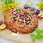 Rustykalna tarta ze śliwkami