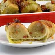 Gołąbki z ziemniakami i boczkiem