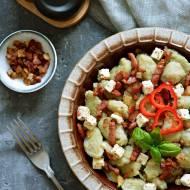 Kluski szare, czyli z kładzione z ziemniakami