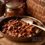 Sałatka z grzybów – kuchnia podkarpacka