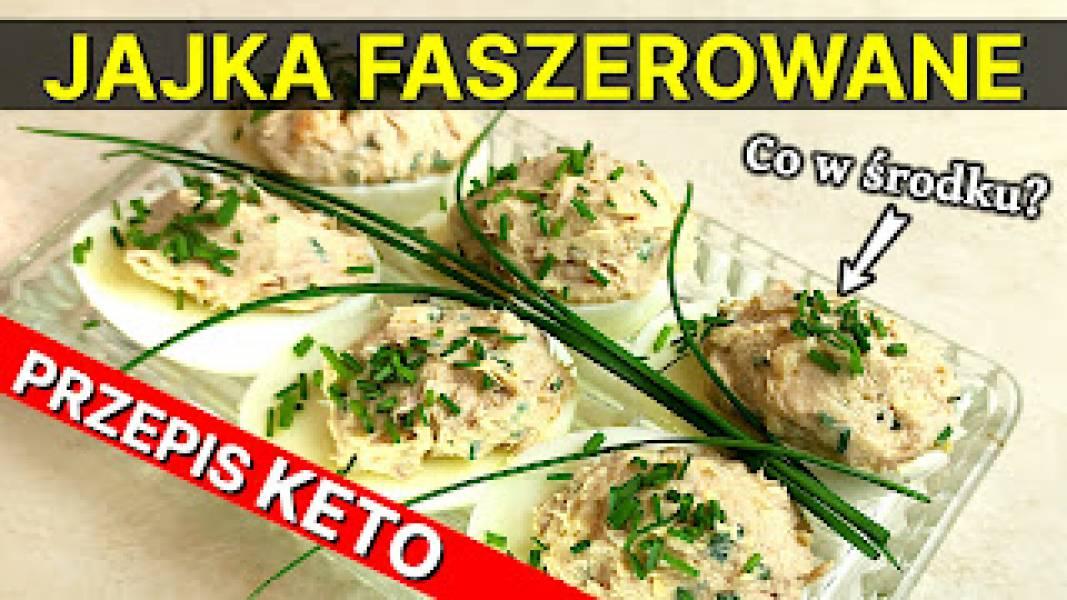 Jajka faszerowane - Przepis keto!