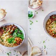 Zupa miso z boczniakami