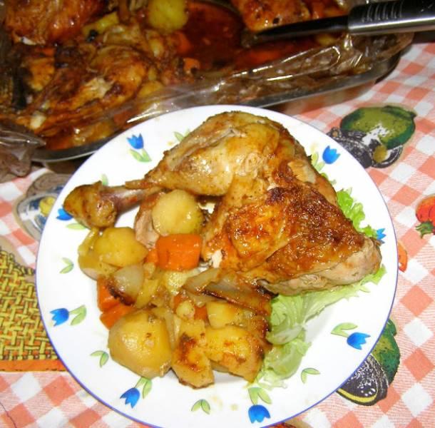 pyszne udka kurczaka czyli danie