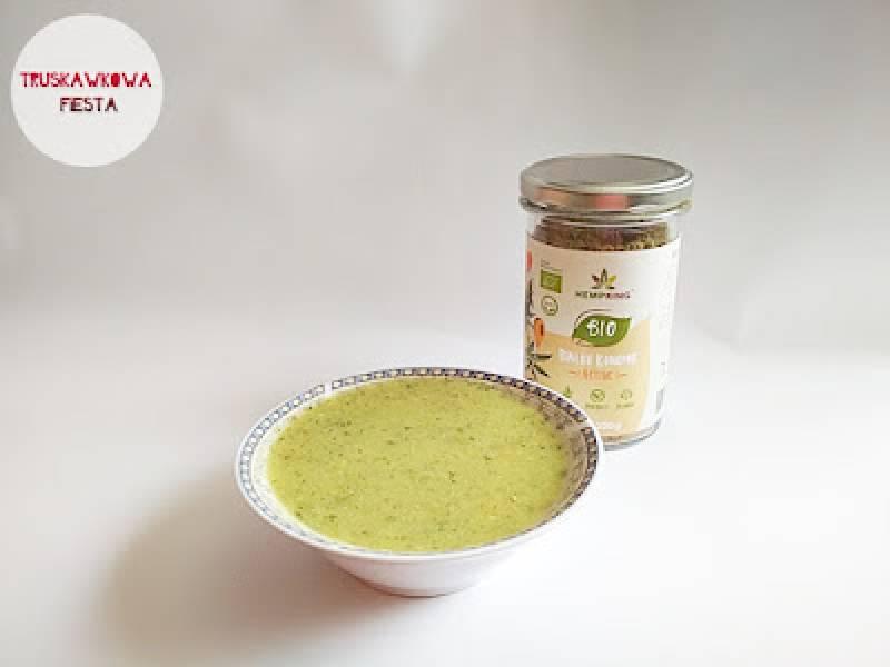 Zupa krem z cukinii i bio białkiem konopnym ACTIVE