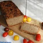 Żytni chleb na zakwasie ze złotym lnem