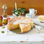 Niemiecki jabłecznik z lukrem z przepisu babci