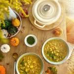 Rozgrzewająca zupa kalafiorowa