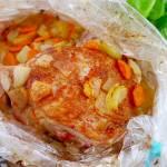 Udziec indyka pieczony w rękawie – szybki i smaczny przepis na obiad