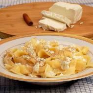 Makaron z białym serem