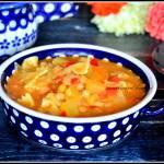 Zupa z ciecierzycą i mlekiem kokosowym