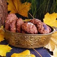 Ciastka owsiane z dodatkiem płatków jaglanych i nasion z konopi
