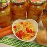 Surówka z kapustą do słoików na zimę – Pyszny dodatek do obiadu (bez cukru)
