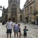 Bath z dziećmi - Roman Baths, Pulteney Bridge i Bath Skyline...