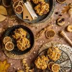 Owsiane ciastka z żurawiną i figą