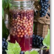 Domowy ocet winny. Ocet z czerwonych i zielonych winogron