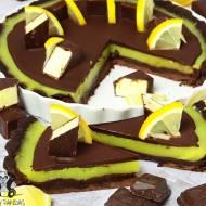 Tarta cytrynowe PTASIE MLECZKO (bez glutenu, białego cukru, laktozy, wegańskie)