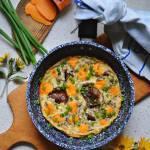 Projekt Śniadanie: Omlet z rydzami i Mimolette