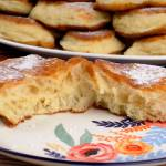 Ołady racuchy drożdżowe z rzadkiego ciasta