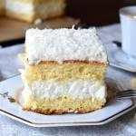 Ciasto Rafaello na biszkopcie z białą czekoladą + filmik