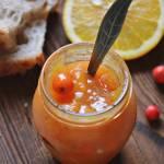 Z ŁĄKI NA TALERZ: Pomarańczowa konfitura z jarzębiną i cynamonem