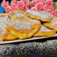 Racuszki rosyjskie z jabłkami (bez drożdży)