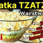 Sałatka tzatziki -Przepis na sałtkę warstwową